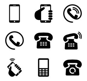 80 Free Vector Icons Of Phone Icons Designed By Freepik Phone Logo Mobile Phone Logo Phone Icon