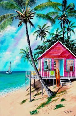 Maillot de bain : Little Pink Houses… The ones Mellencamp sings about