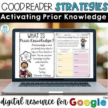 Digital Activating Prior Knowledge Activities Distance Learning Distance Learning Background Knowledge Activities Knowledge