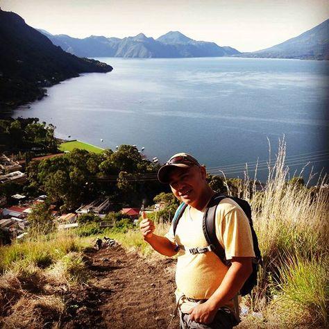 Hiking the Upper Rim Mayan Trail Lake Atitlan Guatemala.  #hiking #hike #mountains #mayan #mayans #trails #rockclimbing #seeyouinguatemala #lakeatitlan #lakeatitlantours #adventure #travel #guatemala #antiguaguatemala #guatemalacity #panajachel
