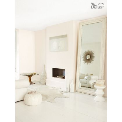 Almond White Dulux paint - available now at Homebase in store and online at homebase.co.uk.