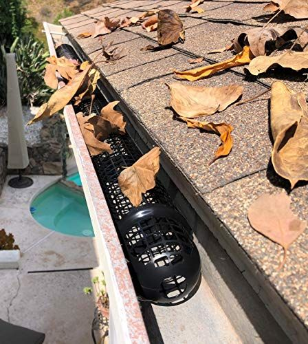40 Gutter Cups Gutter Guards 60 Feet Long Best Gutter Protection From Leaves Diy Gutter Guard In 2020 Gutter Guard Gutter Protection Diy Gutters