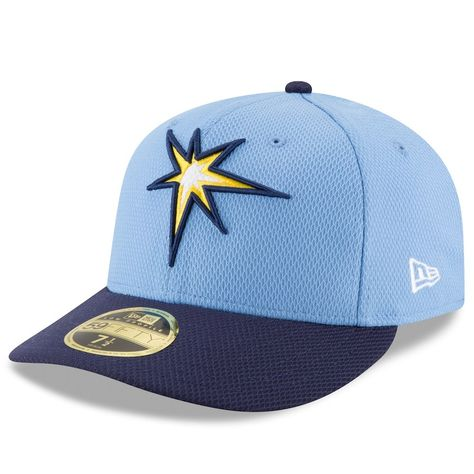 pretty nice a118f 1c39a Men s Tampa Bay Rays New Era Light Blue Blue Diamond Era 59FIFTY Low  Profile Fitted Hat, Your Price   37.99