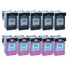5PK Black/&5PK Color Compatible with HP 61XL Ink Deskjet 1512 2000 2050 2510 2512