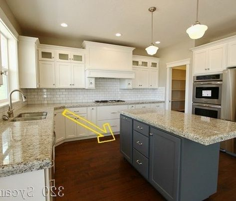 Kitchen Cabinets With Diffe Color
