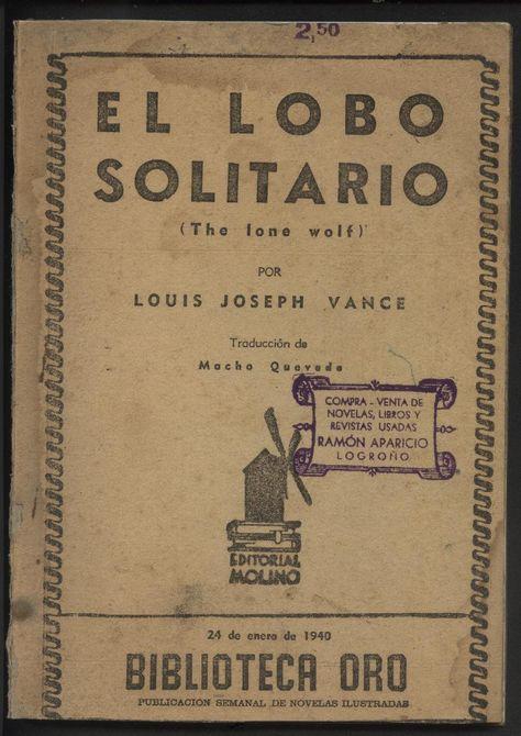 El Lobo Solitario Lobo Solitario Novelas Y Libros