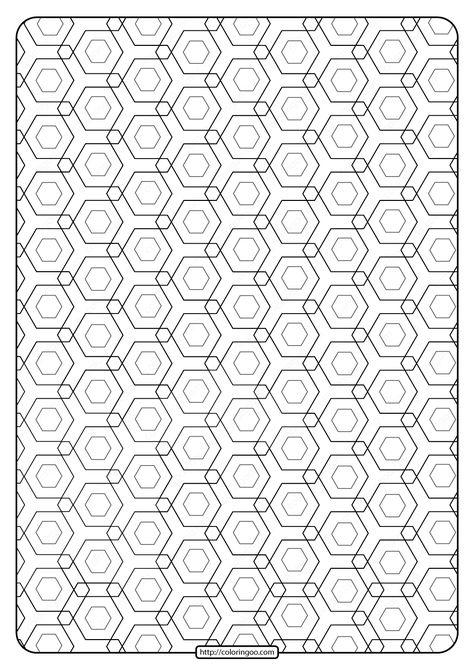 Free Printable Geometric Pattern Pdf Book 010 Free Printable