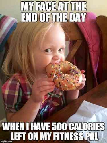 32 Hilarious Donut Quotes In Celebration Of National Donut Day Funny Diet Memes Eating Meme Diet Motivation Funny