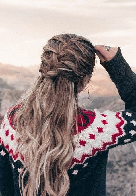25 +> 54 Fast and easy hairstyles for women 2018 2019 - Hairstyles easy - Haar-Tutorial einfach -