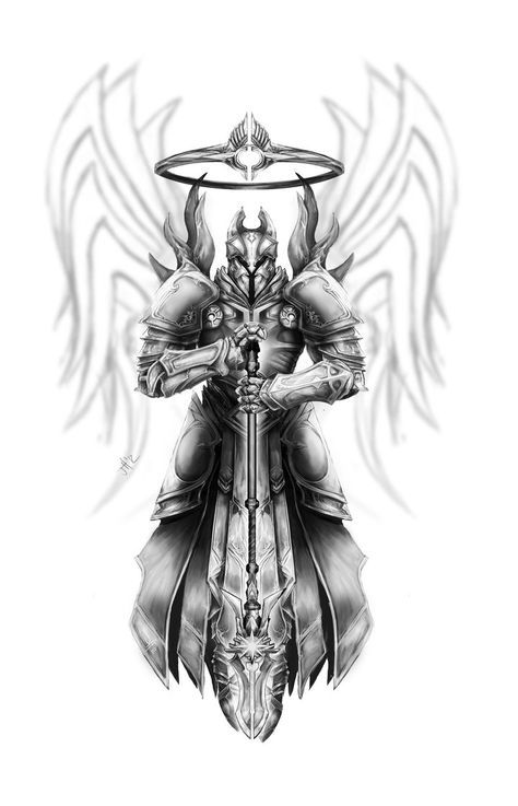 Imperius - Gray Scale Preview by Inkfired on DeviantArt