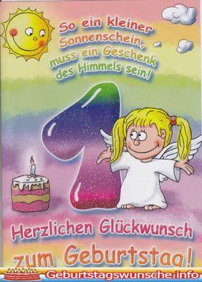 Gluckwunsche Zum 1 Geburtstag Geburtstag Wunsche