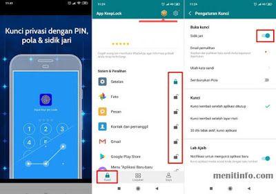 7 Aplikasi Untuk Mengunci Apps Android Dengan Fingerprint Atau Sidik Jari Aplikasi Android Sidik Jari Aplikasi