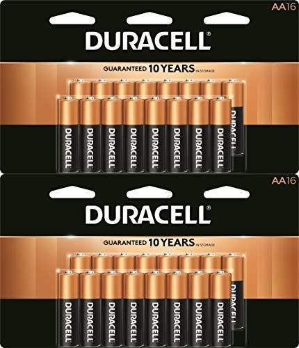 Coppertop Aa Alkaline Batteries Long Lasting All Purpose Double A Battery For Household And Business 16 Count 2 Pa Alkaline Battery Duracell Battery Shop
