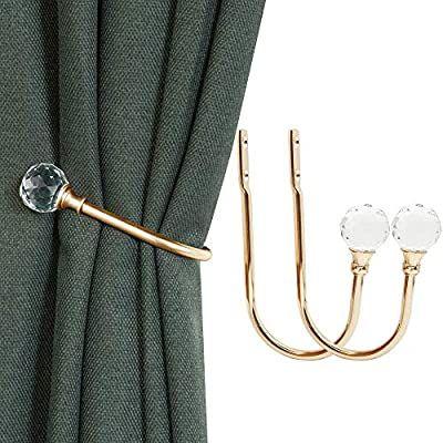 amazon com kolako curtain holdbacks