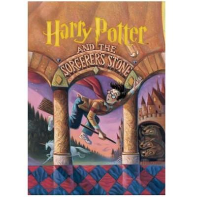 Harry Potter And The Sorcerers Stone Book Cover Mightyprint Wall