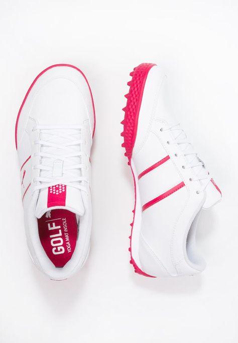 Golf Puma Golf MONOLITE CAT - Chaussures de golf - white/rose red blanc: 77,00 € chez Zalando (au 30/06/16). Livraison et retours gratuits et service client gratuit au 0800 740 357.