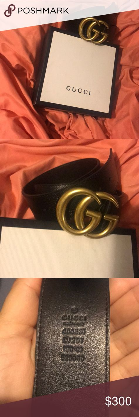 78e27f5c634 Authentic Leather Gucci Belt This item includes a box and bag No dust bag  is available No offers of 150 or lower will be accepted. Men s belt women s  belt ...