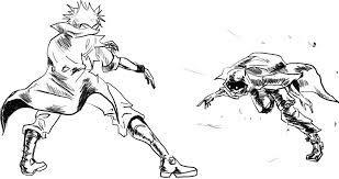 Afbeeldingsresultaat Voor Anime Fight Scene Draw Anime Fight
