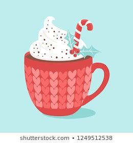 christmas hot chocolate with cream and candy cane vector illustrations hot chocolate drawing christmas hot chocolate hot chocolate vector hot chocolate drawing christmas hot