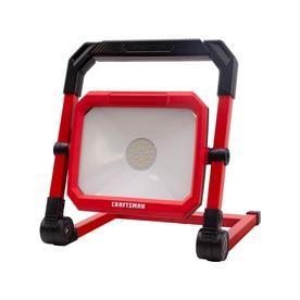 Craftsman 0 Light 28 Watt Led Stand Work Light Lowes Com Work Lights Craftsman Rechargeable Work Light