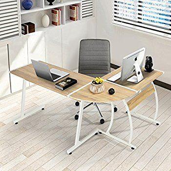 Office Desk L Shape Corner Computer Pc