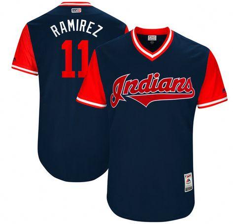 b53e58a95ea Cleveland Indians Jersey - #11 Jose Ramirez
