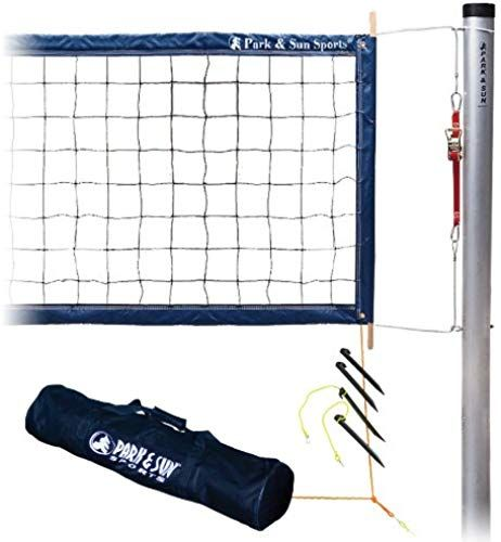 Beautiful Park Sun Sports Tournament 4000 Permanent Professional Outdoor Volleyball Net System Sports Outdoor Volleyball Net Volleyball Set Sports Tournaments