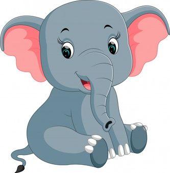 Elephant Cartoon Vectors Photos And Psd Files Free Download Elephant Cartoon Images Cute Elephant Cartoon Cartoon Elephant