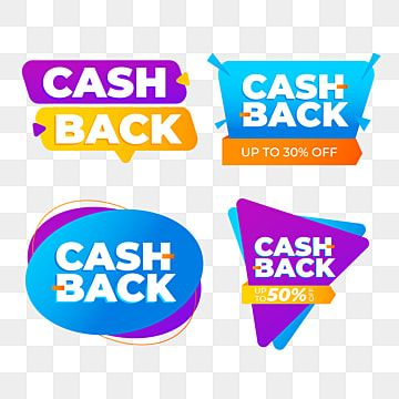 Cash Back Sale Tag Colorful Big Sale Offer Png And Vector With Transparent Background For Free Download Sale Poster Black Friday Sale Banner Prints For Sale