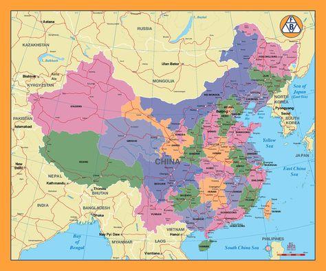 Pinterest China Maps on
