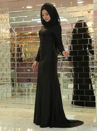 Siyah Tesettur Balik Abiye Elbise Modelleri Elbise Modelleri Elbise Moda Stilleri