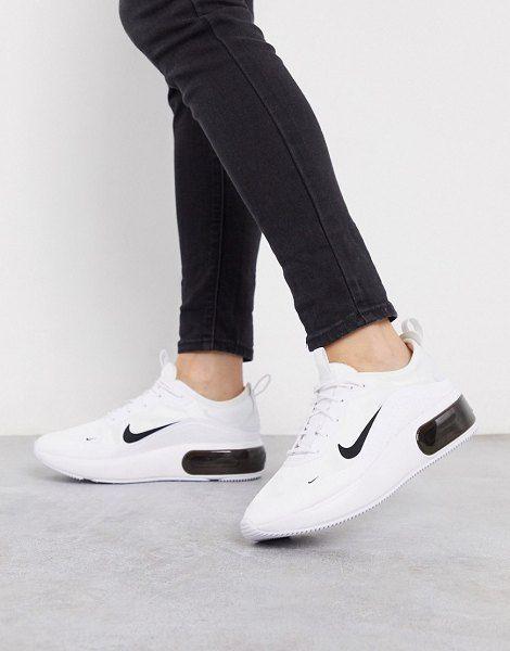Nike Air Max Dia White And Black