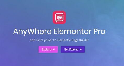 AnyWhere Elementor Pro v2.12.1 | Global Post Layouts WordPress plugin