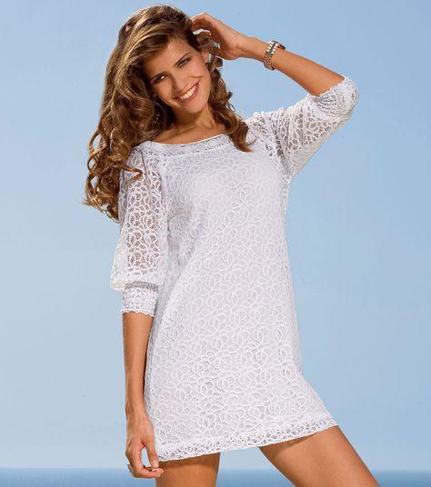9fac021d29 Resultado de imagen para vestido blanco en ojalillo