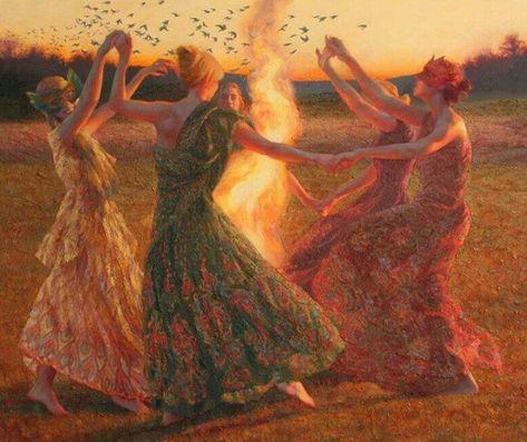 The Golden Age Goddess: The Sisterhood of the Rose Beltane, Sacred Feminine, Artist Portfolio, Summer Solstice, Art Plastique, Fantasy Art, Fine Art, Photos, Mabon