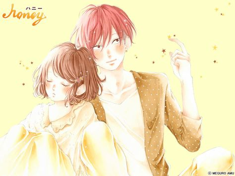 Honey Anime Manga Agendas Y Mangas