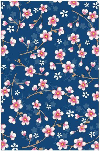 Cherry Blossom Wallpaper Dark Blue Cherry Blossom Wallpaper Flower Wallpaper Cherry Blossom Blue cherry blossom wallpaper