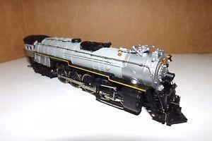 Bachmann HO Scale Overland 4-8-4 Locomotive  Tender W/Smoke