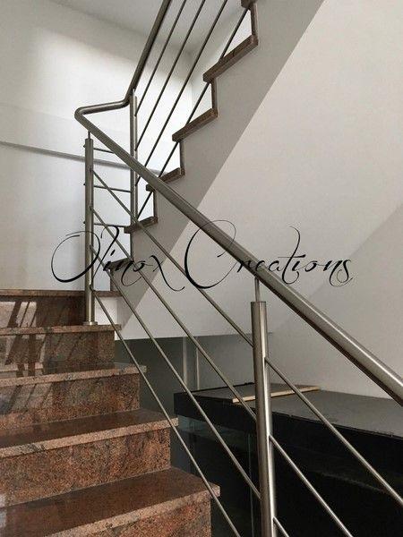 Inox Brosse Sur Escalier Marbre Home Decor Stairs Decor