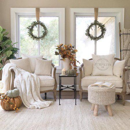 Sofia Upholstered Chair Stocked Ballard Designs Farm House Living Room Farmhouse Living Room Furniture Romantic Living Room Chair styles for living room
