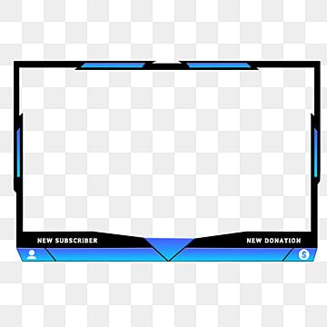 Twitch Stream Overlay Stylish Face Cam Usar Name Donate Facebook Png Transparent Clipart Image And Psd File For Free Download Overlays Geometric Pattern Background Twitch