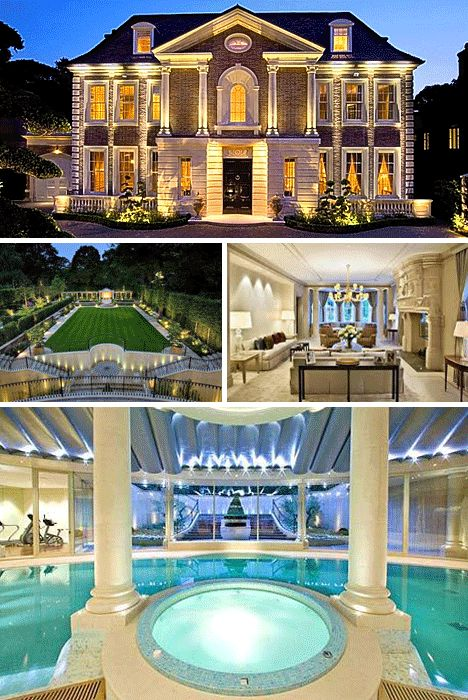512 best home exterior images on pinterest cribs dream houses and luxury homes - Biggest House In The World Inside