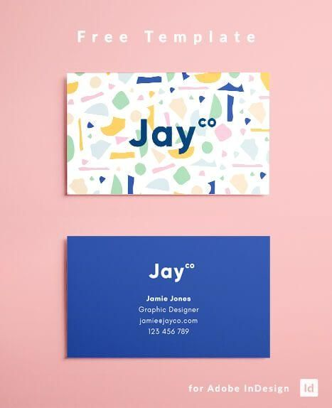 Indesign Business Card Template Free Download Free Business Card Template Download Free Mo Business Cards Creative Name Card Design Business Card Design