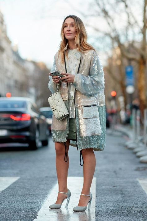 See the looks that caught our attention, and stay tuned for more of Paris Fashion Week's top street style moments. See the looks that caught our attention, and stay tuned for more of Paris Fashion Week's top street style moments.