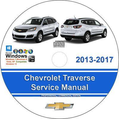 Chevrolet Traverse 2013 2017 Factory Workshop Service Repair Manual Ebay In 2020 Chevrolet Volt Chevrolet Impala Chevrolet Aveo