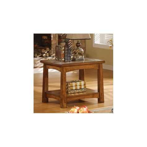 Craftsman Home Side Table Ken S Furniture And Mattress Center