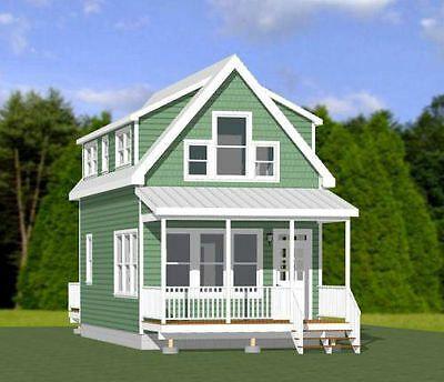 16x30 House 878 Sq Ft Pdf Floor Plan Model 23c 29 99 Building Plans House House Gate Design Narrow Lot House Plans
