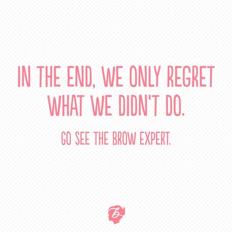 Benefit knows brows!