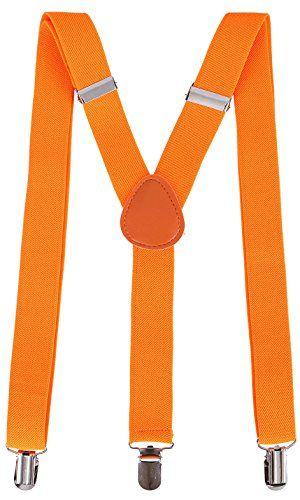 db7bc4a3534 Denovit Men  amp  Women s Classic Dapper Adjustable Suspender... https