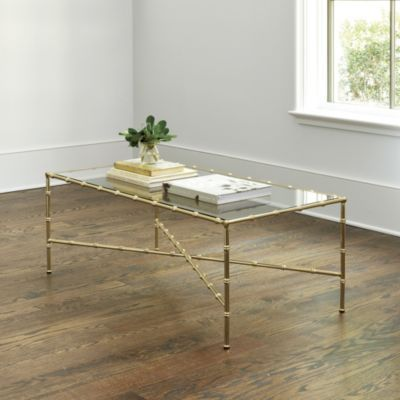 Suzanne Kasler Dorset Bamboo Coffee Table Bamboo Coffee Table